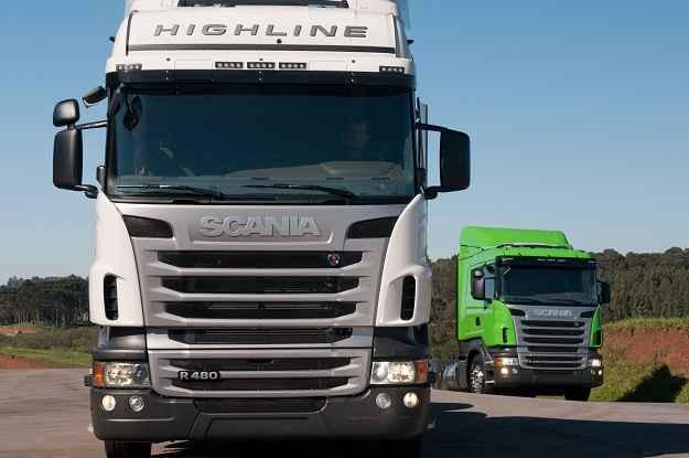 Caminhões da Scania tiveram os sistemas Opticruise e Retarder aprimorados na linha 2012 (Scania/Divulgação)
